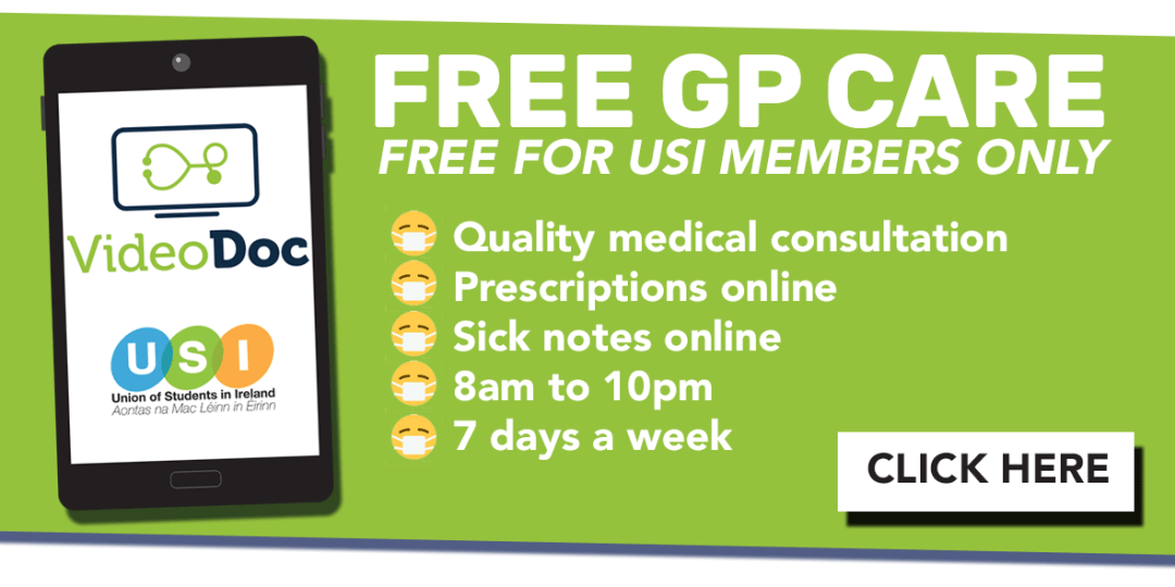 Free GP Service VideoDoc - NUI Galway Students' Union